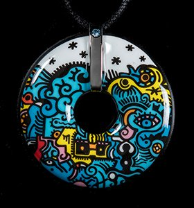 Bijou Billy The Artist : Pendentif Deep Sea