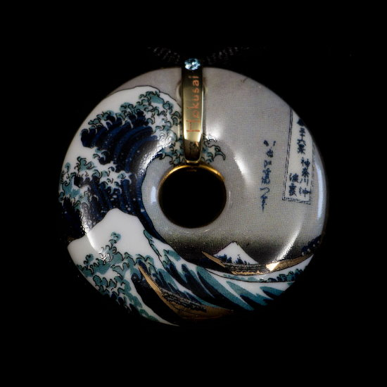 Hokusai pendant Hokusai : The Great Wave of Kanagawa