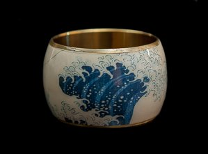 Hokusai Bracelet cuff : The Great Wave