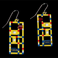 Piet Mondrian jewels