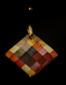 Paul Klee pendant : Harmony, (back of the jewel)