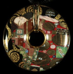 Gustav Klimt Jewellery : Pendant Fulfillment