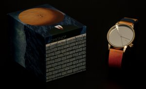 René Magritte watch (Komono) : Art of living