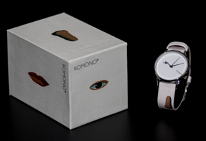 René Magritte watch by Komono : The King's Museum