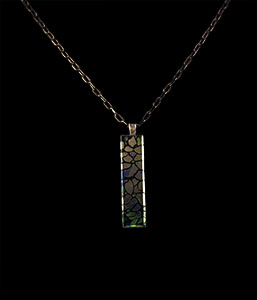Jewel, Tiffany pendant : Dogwood
