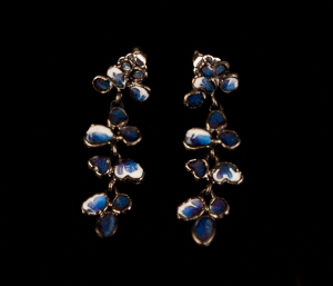 Tiffany Earrings : Wisteria