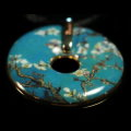 Van Gogh pendant : Almond tree in flower, detail n°2