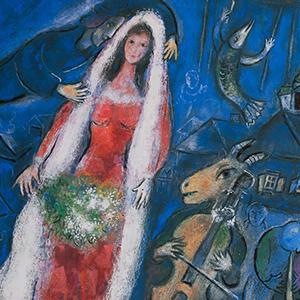 Biographie de marc chagall artiste peintre et lithographe for Biographie de marc chagall