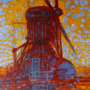 Biographie piet mondrian artiste peintre for Biographie artiste peintre