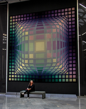 Victor Vasarely : des oeuvres monumentales<br />Fondation Vasarely<br />ΠPassion Estampes