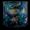 Claude Monet lacquered jewelry box : Nympheas
