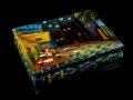 Van Gogh lacquered wood box : Cafe Terrace at Night