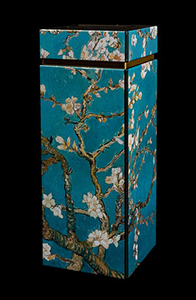 Van Gogh coffee can : Almond Branches in Bloom