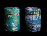 Duo tirelires Van Gogh & Monet, Amandiers & Nymphéas