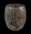 Gustav Klimt Tealight Holder, The expectation (glass)
