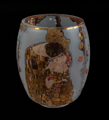 Gustav Klimt Tealight Holder, The kiss (glass)