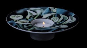 Tamara de Lempicka Porcelain Art Light, Arums