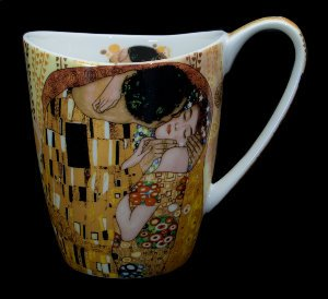 Carmani : Gustav Klimt mug  : The kiss