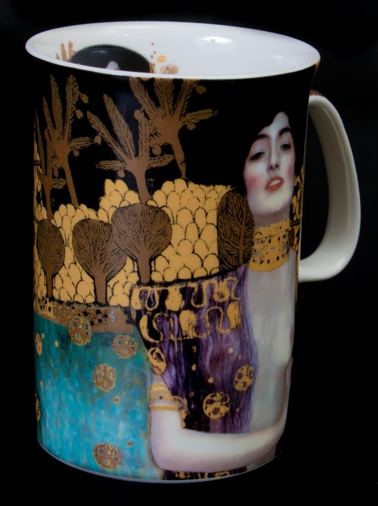 Gustav Klimt Porcelain Mug Judith H 11 Cm 216 7 5 Cm