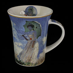 Carmani : Mug Claude Monet : Donna con parasole
