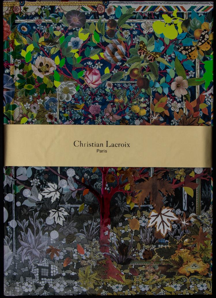 Christian lacroix notebook les quatre saisons for Les jardins 4 saisons