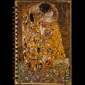 Gustav Klimt notebook : The kiss