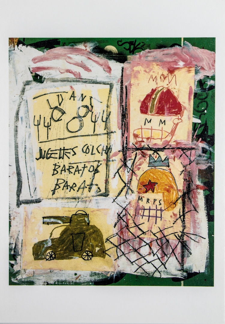 Jean Michel Basquiat 10 Artistic Postcards