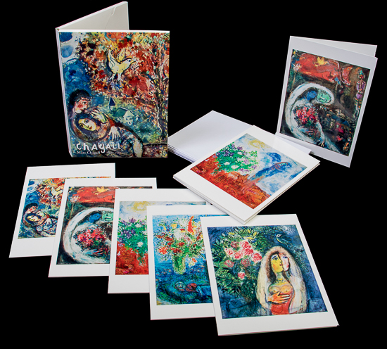 13 Cartes postales Marc Chagall (Lot n°2)