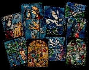 10 postales Chagall (Lote n°2)