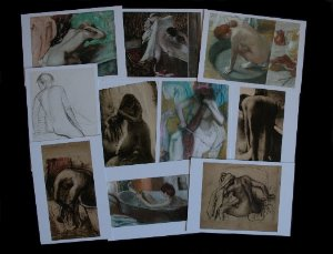 10 Cartes postales Degas (Lot n°1)