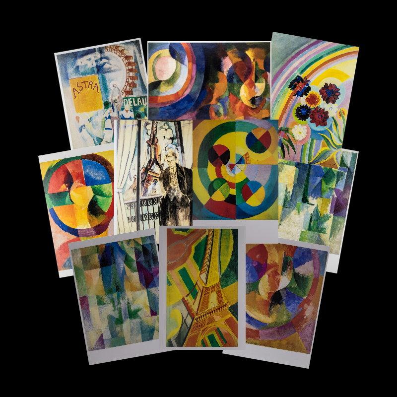 Delaunay : Lot (n°1) de 10 cartes postales 10.5 x 15 cm