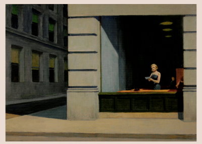 Edward Hopper New York Office 1962