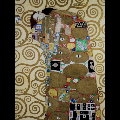 Gustav Klimt double-fold card : Fulfillment