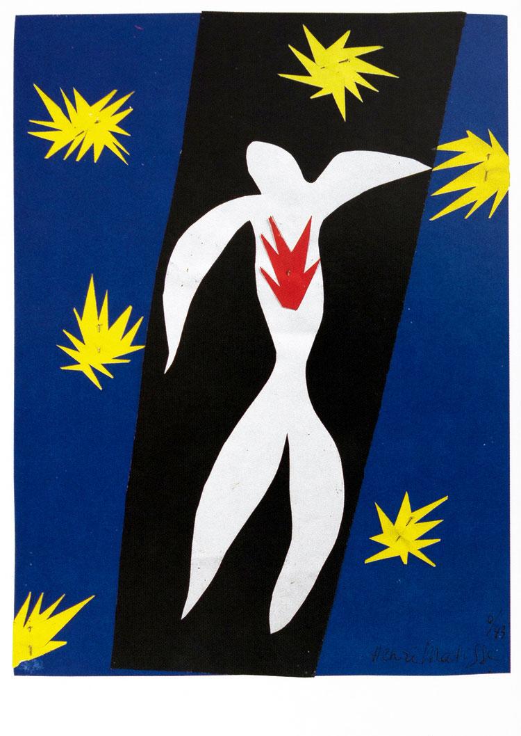 Henri Matisse : Lote (n°1) de 10 postales artísticos