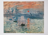 Cartolina de Claude Monet n°6