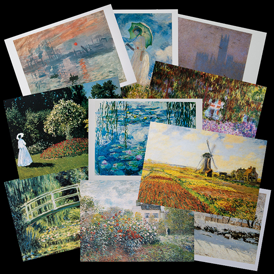 Cartoline Claude Monet (Partita n°2)