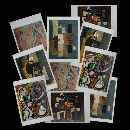 Pablo Picasso postcards (n°4)