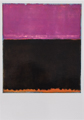 Cartolina Mark Rothko n°3