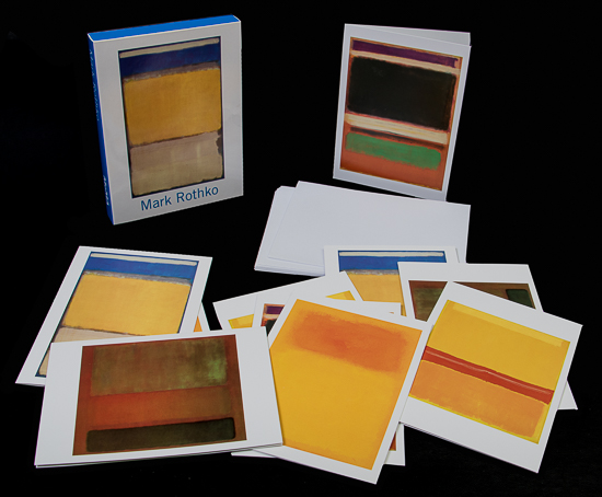 13 Cartes postales Mark Rothko (Lot n°1)