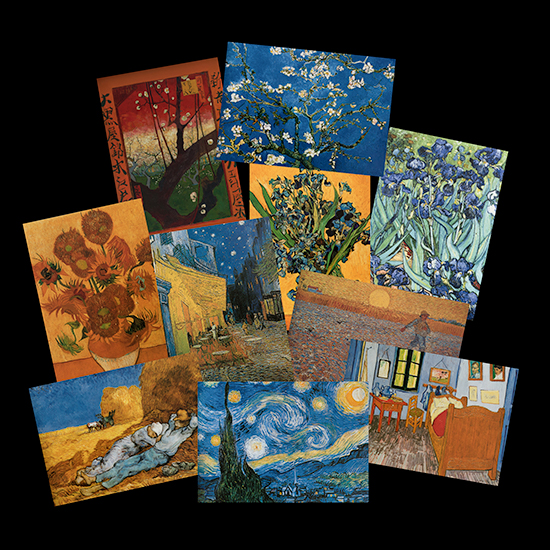 13 Cartes postales Van Gogh (Lot n°1)