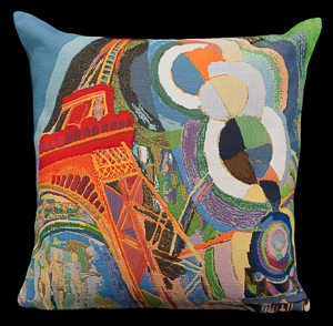 Robert Delaunay cushion cover : Air, Iron, and Water