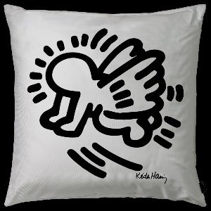Coussin Keith Haring : Baby Angel
