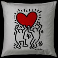 Keith Haring cushion : Heart Hanging