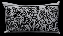 Keith Haring cushion : Heller Garden