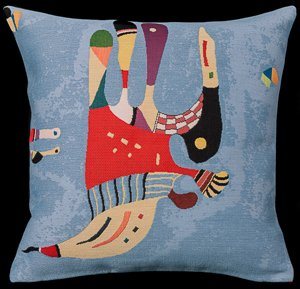 Kandinsky cushion cover : Blue of the sky
