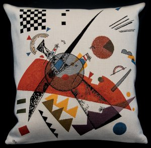 Kandinsky cushion cover : Orange