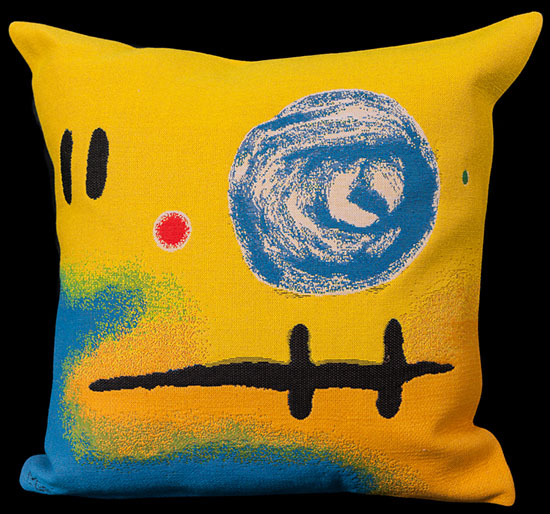 Joan Miro cushion cover : 2+5=7