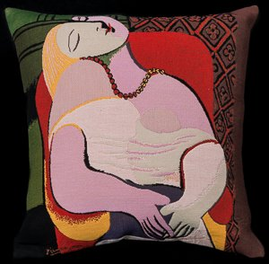 Pablo Picasso cushion cover : The dream