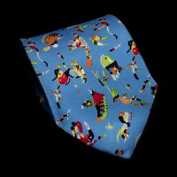 Vassily Kandinsky Silk Tie, Blue of the sky
