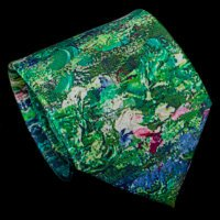 Claude Monet Silk Tie, The Japanese pond